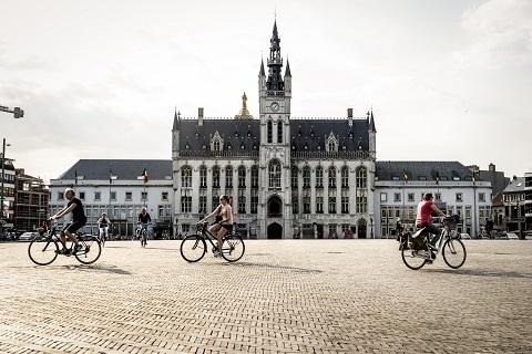 Sint-Niklaas fietsen wandelen