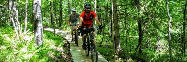 Mountainbiken in Duluth