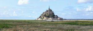 Het einddoel van de Véloscénie, de Mont Saint-Michel